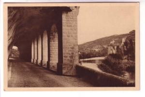 Sepia Argra, Tunnel, Saint Cirq Lapopie, France