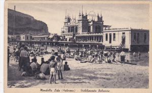 PALERMO, Sicilia, Italy; Mandello Lido, Stabilimento Balneare, 00-10s