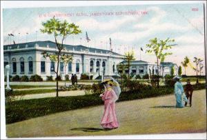 US Government Bldg, Jamestown Exposition, 1907