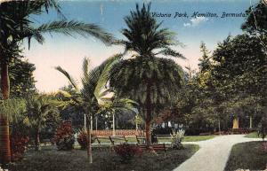 Bermuda Victoria Park Hamilton Postcard