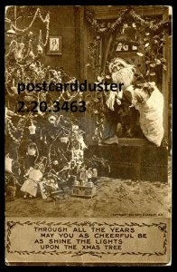 3463 - CHRISTMAS 1911 Santa Claus
