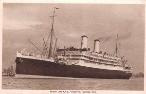 Orient Line Steamship RMS Otranto Ship Old Postcard