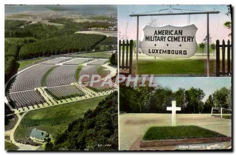 CPM Militaria Luxembourg American Military Cemetery