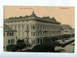 206477 CZECH Frantiskovy Lazne FRANZENSBAD Hotel Stadt Leipzig