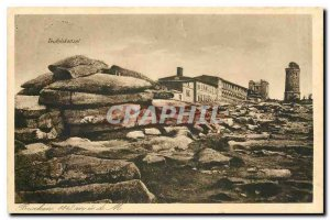 Old Postcard Teufelskanzel Brocken