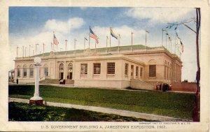 VA - Jamestown. Jamestown Exposition, 1907. U. S. Government Building