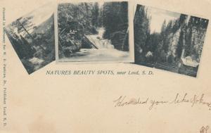 LEAD, South Dakota, PU-1906 ; Natures Beauty Spots, 3-views
