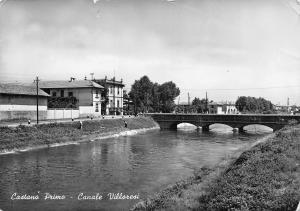 Italy Castano Primo Canale Villoresi Bridge Brucke