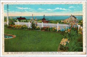 Ocean from Joseph C. Lincoln Estate, Cape Cod MA