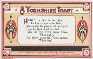 A Yorkshire Toast, England , 1900-10s