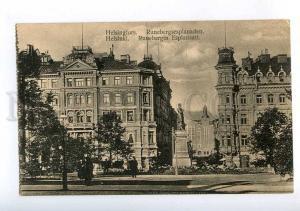 213916 FINLAND HELSINKI Runeberg Esplanade Vintage postcard