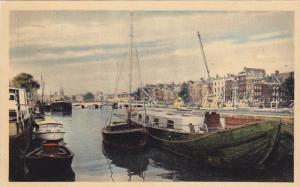 AMSTERDAM (North Holland), Netherlands, 1910-1920s; Amstel Met Magere Brug