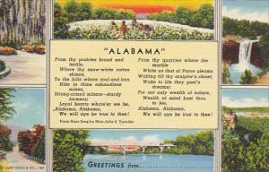 Greetings From Alabama Curteich