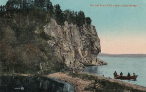On the Bras d'Or Lakes , Cape Breton , Nova Scotia , 1900-10s