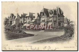 Old Postcard Cabourg Cottages
