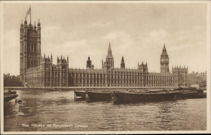 The House of Parliament London real Photogravure Philco
