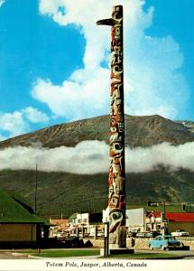 Canada Alberta Jasper Indian Totem Pole