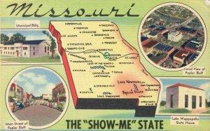 USA - Missouri The Show Me State Main Street Polular Bluff Muncipal Bldg 04.14