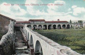 SAN JUAN CAPISTRANO, California 1900-10s; Mission overlooking the quadrangle