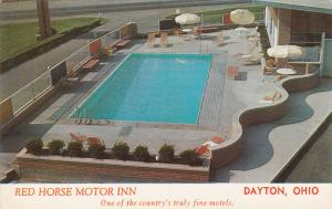 Swimming Pool, Aerial View, Red Horse Inn, DAYTON, Ohio, 40-60´