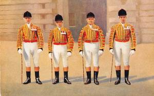 Buckingham Palace, The Royal Mews, Royal Postillions in State Livery