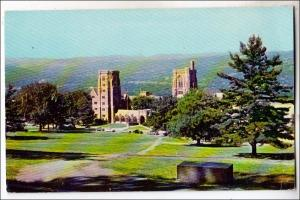 NY - Ithaca. McFadden Hall & Lyon Hall, Cornell University
