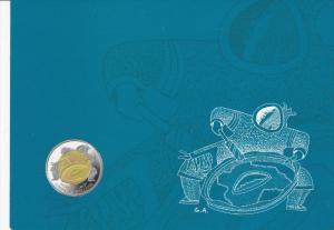 A New Millennium , A New Territory , A new $2 Coin , NUNAVUT , Canada , 2000