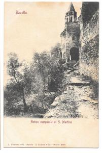 Italy Ravello Campanile di S Martino Church tower Postcard