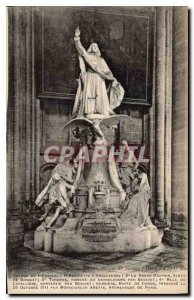 Old Postcard Meaux Cathedral Bishop of Meaux (1681 1704)