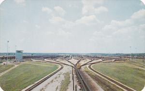 Electronic Railroad Yards , ELKHART , Indiana , 50-60s