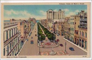 Cuba - Habana. Marti or Prado Promenade