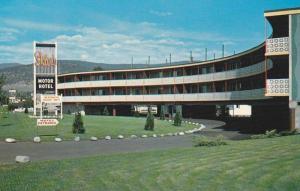 Exterior,  Skiers Motor Motel, Penticton,  B.C.,  Canada,  40-60s