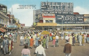 ATLANTIC CITY , New Jersey, 1930-40s ; Steel Pier