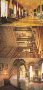 Castle Howard Yorkshire Long Gallery Chapel Bedroom 3x 1980s Interior Postcard s