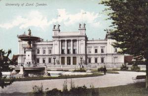 University Of Lund, Sweden, 1900-1910s