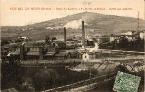CPA Sain Bel les Mines - Puits St Gobain a St Pierre la Pallud (572772)