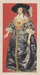 Brooke Bond Vintage Trade Card British Costume 1967 No 15 Lady's Day Dress Ci...