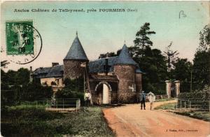 CPA Ancien Chateau de Talleyrand pres FOURMIES (512796)