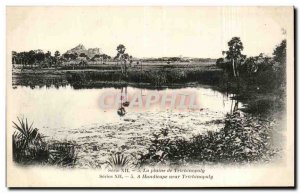 Old Postcard India India the plaien Trichinopoly