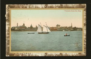Canada Postmark 1910 Toronto Ont Toronto From The Bay Valentines Postcard