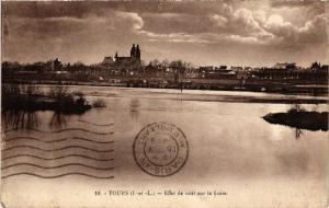 CPA TOURS - Effet de nuit sur la Loire (298585)