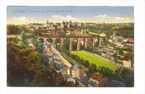 Luxemburg - Panorama pris de la rout de Treves, 00-10s