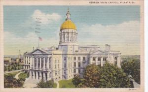 Georgia Atlanta State Caitol Building 1935 Curteich