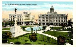 Cuba - Havana. Zayas Park, Presidents Palace