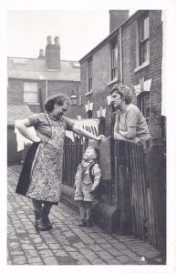 Nostalgia Postcard Neighbours in Vaughton Street Birmingham 1954 Repro #N166