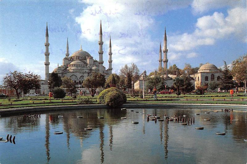 Turkey Istanbul, Sultanahmet Camii The Blue Mosque