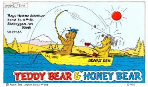 Teddy Bear & Honey Bear Unused