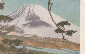 Painting of Mount Fuji, Japan