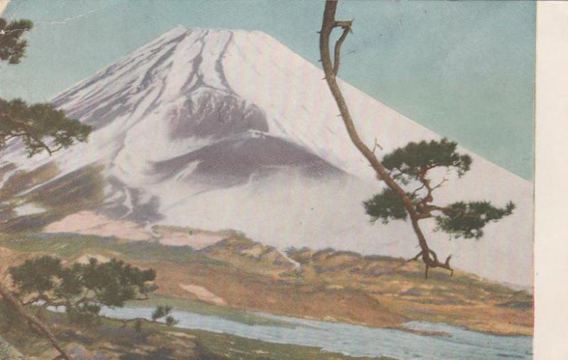 Painting of Mount Fuji, Japan