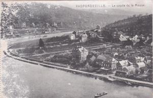 PROFONDEVILLE, Namur, Belgium, 1900-1910's; Le Coude De La Meuse
